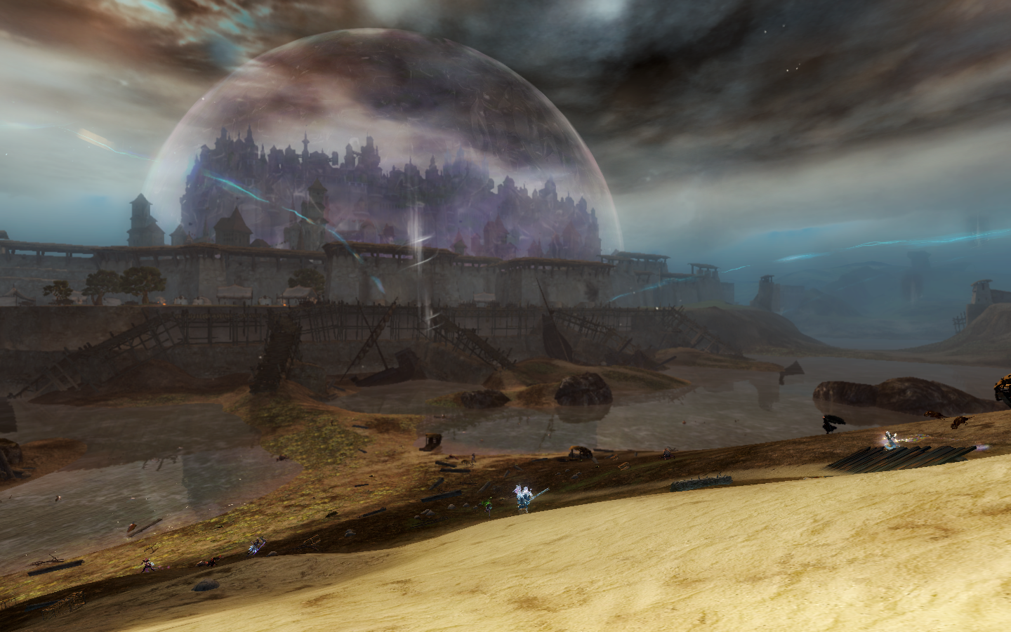Divinity's Reach protected by Jennah's mesmer magic